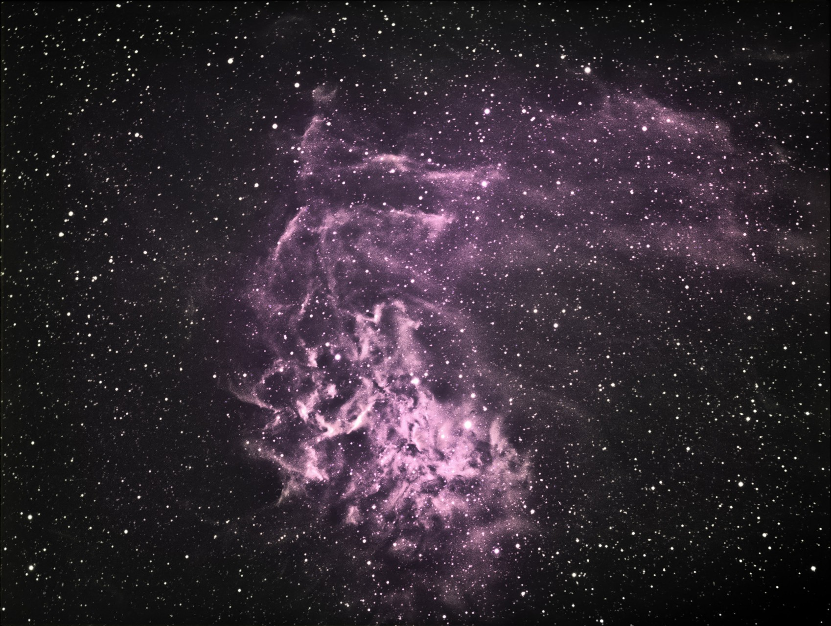 The Flaming Star Nebula (IC 405)