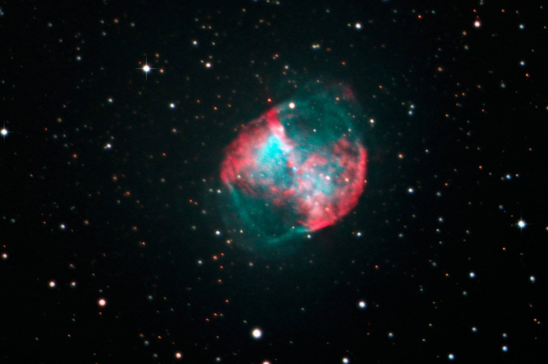 Dumbbell Nebula (M 27)